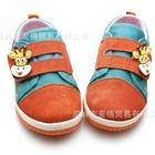 รองเท้าผ้าใบเด็กวัวน้อย-สีส้มฟ้า-(6-คู่/แพ็ค)