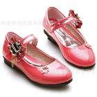 รองเท้าเด็กหญิง-Apple-สีแดงแตงโม-(6-คู่/แพ็ค)