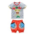 ชุดเสื้อกางเกง-Monkey-สีเทา-(3-ตัว/pack)