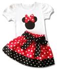 ชุดเสื้อกระโปรง-Mickey-Mouse-สีแดง-(5-ตัว/pack)