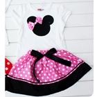 ชุดเสื้อกระโปรง-Mickey-Mouse-สีชมพู-(5-ตัว/pack)
