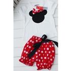 ชุดเสื้อกางเกง-Mickey-Mouse-สีแดง-(5-ตัว/pack)