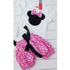 ชุดเสื้อกางเกง-Mickey-Mouse-สีชมพู-(5-ตัว/pack)