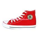 รองเท้าผ้าใบทรงสูง-Star-สีแดง-(7-คู่/แพ็ค)