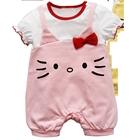 บอดี้สูทคุณหนู-Hello-Kitty-สีชมพู-(3-ตัว/pack)