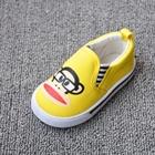 รองเท้าเด็ก-Paul-Frank-สีเหลือง-(8-คู่/แพ็ค)