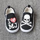 รองเท้าเด็ก-I-love-MJ-สีดำ-(8-คู่/แพ็ค)