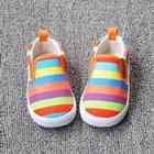 รองเท้าเด็กสายรุ้งหลากสี-(8-คู่/แพ็ค)