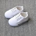 รองเท้าผ้าใบเด็ก-สีขาว-(5-คู่/แพ็ค)