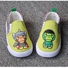รองเท้าเด็กลิงอวกาศ-สีเขียว-(5-คู่/แพ็ค)