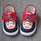 รองเท้าเด็ก-Paul-Frank-สีแดง-(5-คู่/แพ็ค)