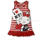 เดรสแขนกุด-Hello-Kitty-สีแดง-(5-ตัว/pack)
