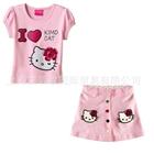 ชุดเสื้อและกระโปรง-I-LOVE-KIMO-สีชมพู-(5-ตัว/pack)