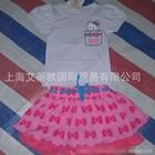 ชุดเสื้อและกระโปรง-KIMOCAT-สีขาวชมพู-(5-ตัว/pack)