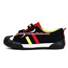 รองเท้าผ้าใบสปอร์ตสีดำ-(7-คู่/แพ็ค)