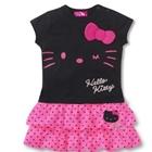 เดรสแขนสั้น-Hello-Kitty-สีดำ-(5-ตัว/pack)