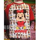 เสื้อแขนสั้น-Minnie-baby-สีแดง-(5ตัว/pack)