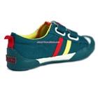 รองเท้าผ้าใบสปอร์ตสีเขียวเข้ม-(7-คู่/แพ็ค)