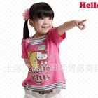 เสื้อแขนสั้น-Hello-Kitty-สีชมพู-(5ตัว/pack)