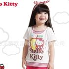 เสื้อแขนสั้น-Hello-Kitty-สีขาว-(5ตัว/pack)