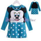 เดรส-Minnie-Mouse-โทนสีฟ้า-(5-size/pack)