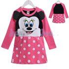 เดรส-Minnie-Mouse-โทนสีชมพู-(5-size/pack)
