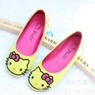 รองเท้าเด็ก-Hello-Kitty-สีเหลือง-(5-คู่/แพ็ค)