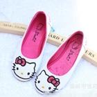 รองเท้าเด็ก-Hello-Kitty-สีขาว-(5-คู่/แพ็ค)