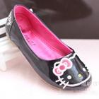 รองเท้าเด็ก-Hello-Kitty-สีดำ-(5-คู่/แพ็ค)