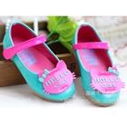 รองเท้าเด็ก-Hello-Cat-สีฟ้า-(5-คู่/แพ็ค)