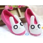รองเท้าเด็กกระต่ายน้อย-สีชมพู-(5-คู่/แพ็ค)