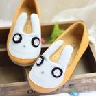 รองเท้าเด็กกระต่ายน้อย-สีเหลือง-(5-คู่/แพ็ค)