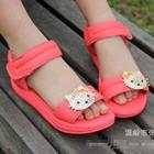 รองเท้า-Hello-Kitty-สีแตงโม-(ไซส์เล็ก)(5-คู่/แพ็ค)
