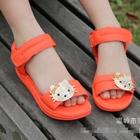รองเท้า-Hello-Kitty-สีส้ม-(ไซส์เล็ก)(5-คู่/แพ็ค)