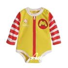 บอดี้สูทเด็ก-McDonald-สีเหลือง-(6-ตัว/pack)