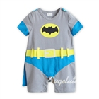 บอดี้สูทเด็ก-Batman-สีฟ้าเทา-(6-ตัว/pack)