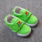 รองเท้าเด็ก-Love-Mom-Dad-สีเขียว-(8-คู่/แพ็ค)