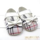 รองเท้าเด็กหญิง-Burberry-สีน้ำตาล-(6-คู่/pack)