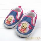 รองเท้าเด็กหมีพูลล์-Disney-สีฟ้า-(6-คู่/pack)