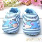 รองเท้าเด็กลาน้อย-Disney-สีฟ้า-(6-คู่/pack)