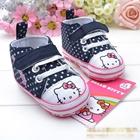 รองเท้าผ้าใบเด็ก-Hello-Kitty-สีน้ำเงิน(6-คู่/pack)