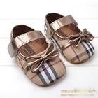 รองเท้าเด็ก-Burberry-โบว์ทอง-(6-คู่/pack)