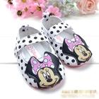 รองเท้าเด็กลายจุด-Minnie-Mouse--(6-คู่/pack)