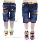 กางเกงยีนส์สามส่วน-Angry-Bird-สีกรม--(5size/pack)