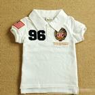 เสื้อโปโล-Number-96-สีขาว-(5-ตัว/pack)
