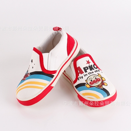 รองเท้าเด็ก Anpanman สีขาว (5 คู่/แพ็ค)