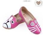รองเท้าเด็กหมาแมวน้อย-สีบานเย็น-(5-คู่/แพ็ค)