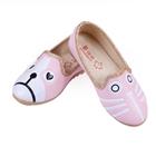 รองเท้าเด็กหมาแมวน้อย-สีชมพู-(5-คู่/แพ็ค)