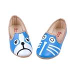 รองเท้าเด็กหมาแมวน้อย-สีฟ้า-(5-คู่/แพ็ค)