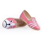 รองเท้าเด็กหมาแมวน้อย-สีแดงแตงโม-(5-คู่/แพ็ค)